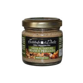 Salsa tartufata in vasetto di vetro al tartufo bianco (80gr)