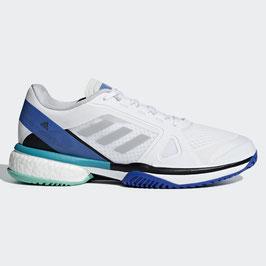 Adidas Damen Schuhe ASMC, weiß/blau, Allcourt
