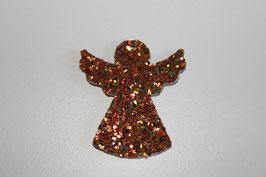 Anhänger Engel  Glitter Gold
