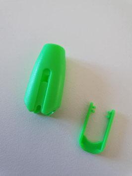 Seilklemme Farbe Grün
