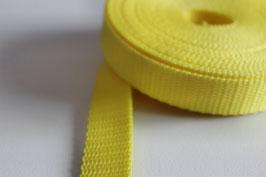 PP Gurtband Zitrone