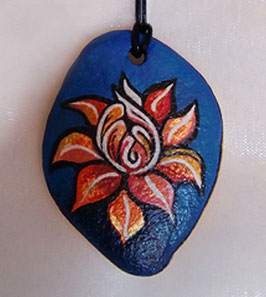 "AGNYA STONE-ART | AMULETT ""FLOWER OF LIFE"""