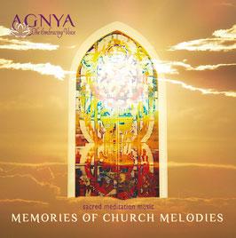 "AGNYA · CD ""MEMORIES OF CHURCH MELODIES"" - Sacred Meditation Music"