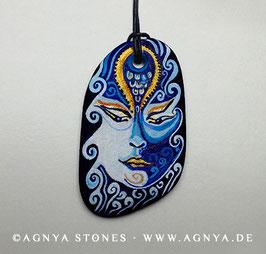 "AGNYA STONE-ART | AMULETT ""AQUARIUS"""