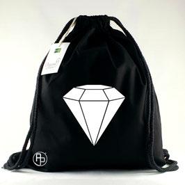 Turnbeutel / Gymbag geometrischer Diamant