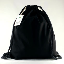 Turnbeutel / Gymbag neutral Black