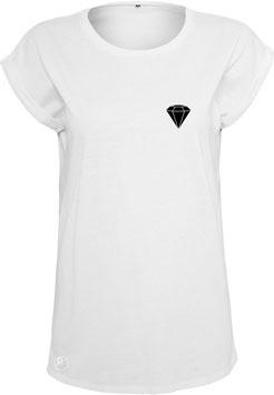 AP white Shoulder Tee Diamond
