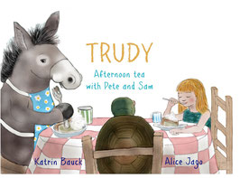 TRUDY Afternoon tea with Pete and Sam