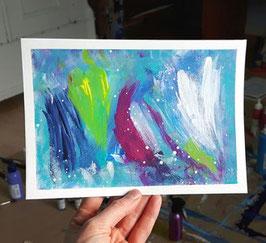 Acrylfarben auf Papier