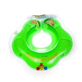 Baby Badekragen Grün Klein 0-2 Jahre(3-12 kg)