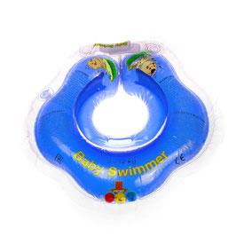 Baby Badekragen Blau Klein 0-2 Jahre(3-12 kg)