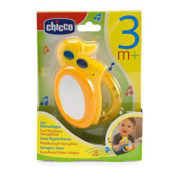 Chicco Musikrassel Saxophon 3m+