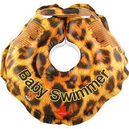 BabySwimmer Badekragen 3-12 kg Leopard