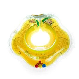 Baby Badekragen Gelb Klein 0-2 Jahre(3-12 kg)