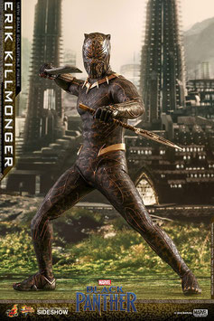 Erik Killmonger 1/6 Black Panther Marvel Movie Masterpiece 31cm Actionfigur Hot Toys
