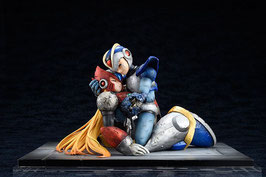 Mega Man X & Zero 1/7 Video Game Statue 15cm Hobby Japan