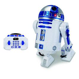 R2-D2 Interaktiver Star Wars Drohte Episode VII RC Fahrzeug mit Sound & Leuchtfunktion 45cm Thinkway Toys