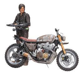 Daryl Dixon with Custom Bike Deluxe The Walking Dead Actionfigur Chopper Staffel 5/6 13cm McFarlane