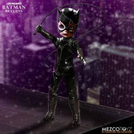 Catwoman Living Dead Dolls Batman Returns Presents Puppe 25cm DC Actionfigur (Michelle Pfeiffer) Mezco Toys