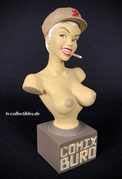 Comix Buro Topless Pin Up Büste 14cm (Nude) Resin Attakus