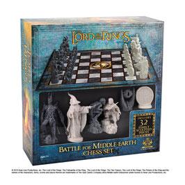 Schachspiel Herr der Ringe Battle for Middle Earth Mittelerde Schach 47x47cm Noble