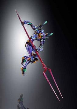 EVA-01 Test Type EVA 2020 Neon Genesis Evangelion Metal Build Diecast Actionfigur 22cm Anime Bandai Tamashii Nations