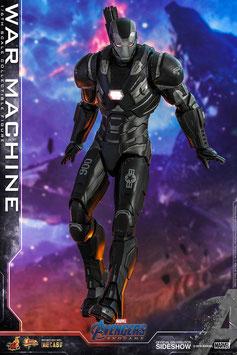 War Machine 1/6 Marvel Avengers Endgame Movie Masterpiece Series Diecast Actionfigur 32cm Led beleuchtet Hot Toys