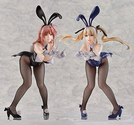 Marie Rose & Honoka 1/4 Bunny Dead or Alive Xtreme3 B-Style Anime Statuen Set 33cm Freeing