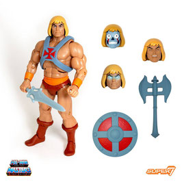 He-Man Club Grayskull Ultimates Masters of the Universe MOTU Actionfigur 18cm Super7