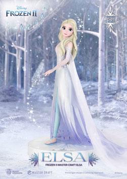 Elsa 1/4 Frozen Die Eiskönigin 2 Master Craft Statue Polystone 41cm Disney Beast Kingdom Toys