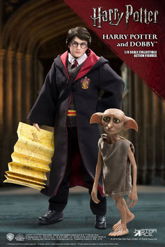 Harry & Dobby 1/8 Harry Potter Real Master Series Actionfiguren Doppelpack 16-23cm Set Star Ace