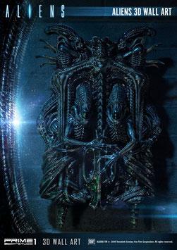 Aliens 3D Wand-Relief Alien Warrior 50x32cm Prime1 Studio