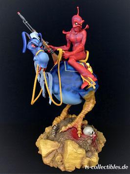 William Stout's Red Rider 33cm Wizards 1977 Necron 99 Anime Statue Sideshow