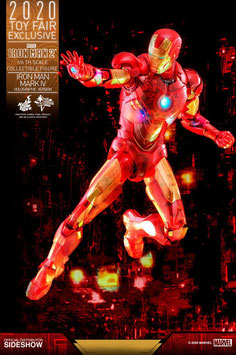 Iron Man 2 MM Actionfigur 1/6 Iron Man Mark IV (Holographic Version) 2020 Toy Fair Sideshow Exclusive 30cm Hot Toys
