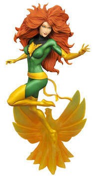 Jean Grey Phoenix Marvel Gallery 25cm Statue Diamond Select