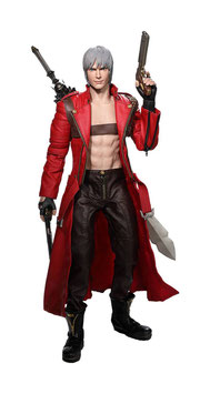 Dante 1/6 Devil May Cry 3 Game Actionfigur 32cm Asmus Collectible