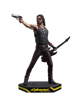Johnny Silverhand Cyberpunk 2077 Video Game Statue 24cm Dark Horse