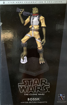 Bossk 1/8 Star Wars The Clone Wars Exclusive Bountyhunter Maquette Statue Resin 24cm Gentle Giant