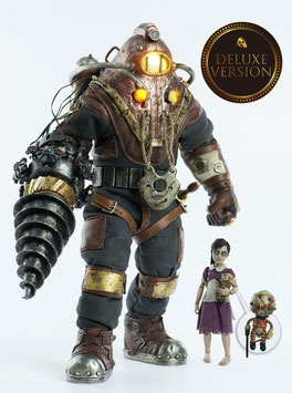 Subject Delta & Little Sister Deluxe Version 1/6 BioShock 2 Doppelpack 33cm Actionfigur Threezero