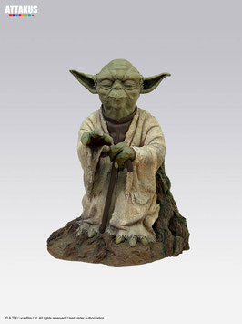 Yoda on Dagobah using the force Star Wars Episode V Elite Collection 16cm Resin Statue Attakus