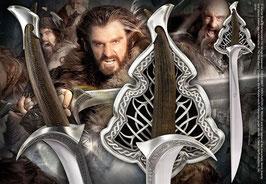 Thorin Eichenschilds Schwert Orcrist 1/1 Life-Size Replik - Der Hobbit Mittelerde 92cm Noble