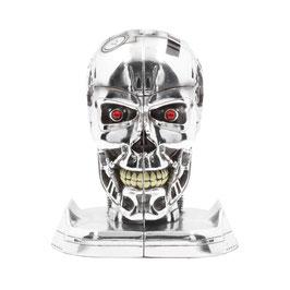 Terminator T-800 Buchstützen Head Resin 19cm Nemesis Now
