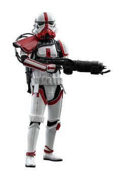 Incinerator Stormtrooper 1/6 Star Wars The Mandalorian Series Masterpiece 30cm Actionfigur Hot Toys