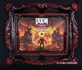 Doom Eternal 60 x 50cm - gerahmt Einzelstück Art Print Ts-Collectibles