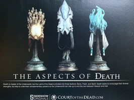 The Aspects of Death Mask 1/4 Court of the Dead Masken 3er-Pack Polystone 20cm Sideshow