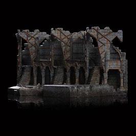 Dol Guldur Environment (Colonnade) 1/30 Der Hobbit - Die Schlacht der fünf Heere 42x20cm WETA