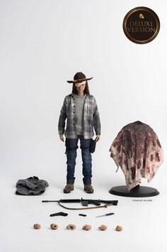 Carl Grimes Deluxe Version 1/6 The Walking Dead Actionfigur 29cm Threezero