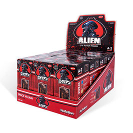 Alien ReAction Display Blind Box Wave 2 Actionfiguren 10cm (12St) Super7
