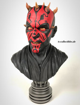 Darth Maul 1/2 Star Wars Episode I Legends in 3D Büste Resin Statue 25cm Diamond Select