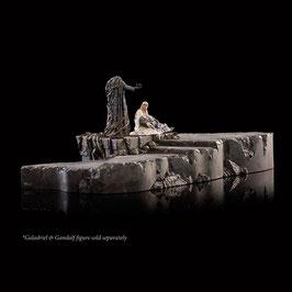 Dol Guldur Environment The Palantír Courtyard 1/30 Der Hobbit - Die Schlacht der fünf Heere 32x24cm WETA